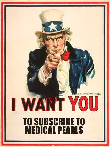 Uncle Sam wants you to subscribe to Medical Pearls